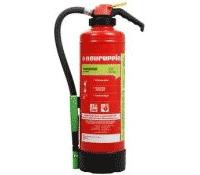 Der Feuerlöscher bietet 10 Löscheinheiten und ist bereits für ca. 75€ erhältlich.
