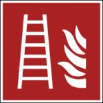 Brandschutzzeichen-Feuerleiter