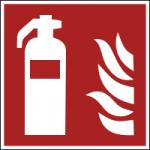 Brandschutzzeichen-Feuerloescher