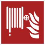 Brandschuzeichen-Loeschschlauch