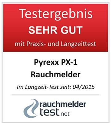 Pyrexx PX-1 12-Jahres-Rauchmelder - 5